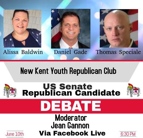 US Senate Debate